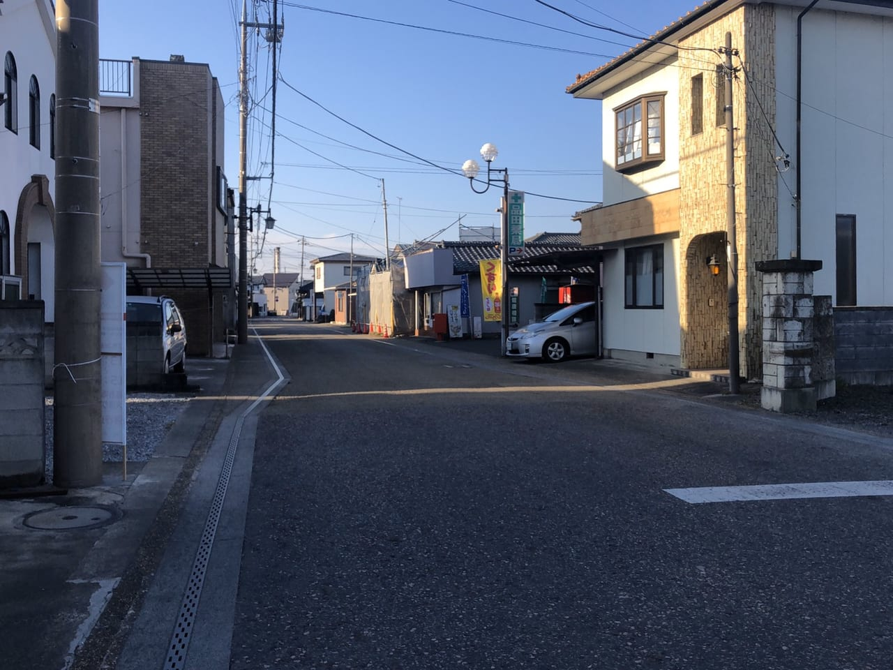 栃木市聖火リレー例幣使街道
